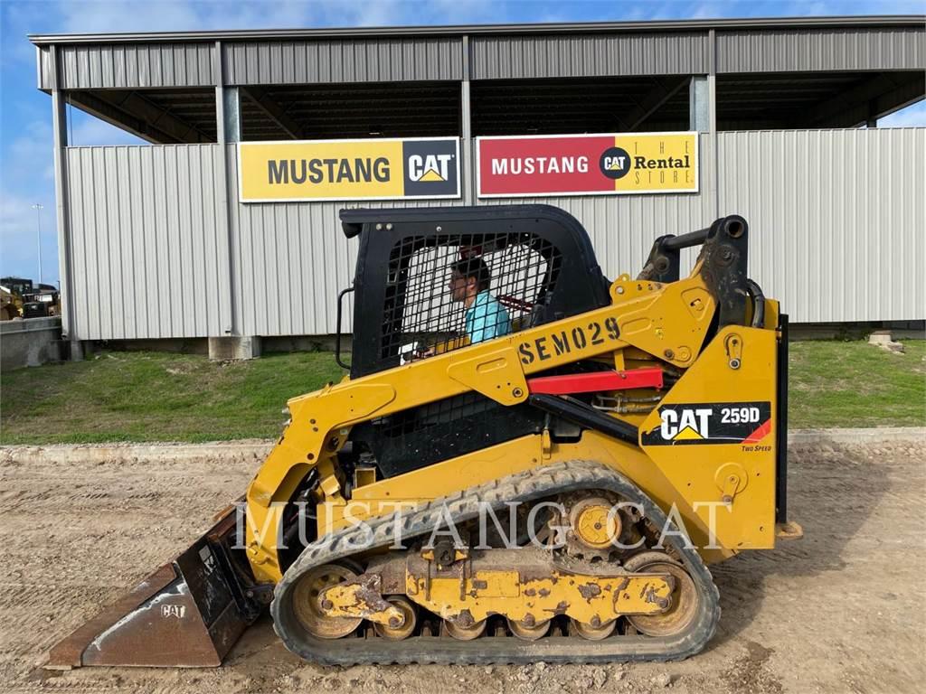 Caterpillar 259D, Bulldozer, Équipement De Construction