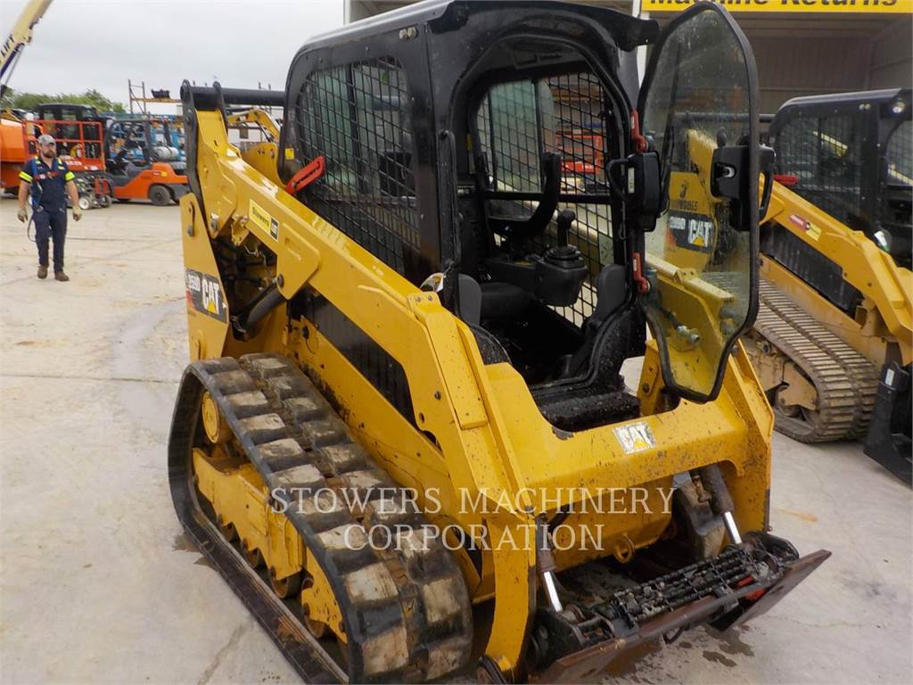 Caterpillar 259D, Mini incarcator, Constructii