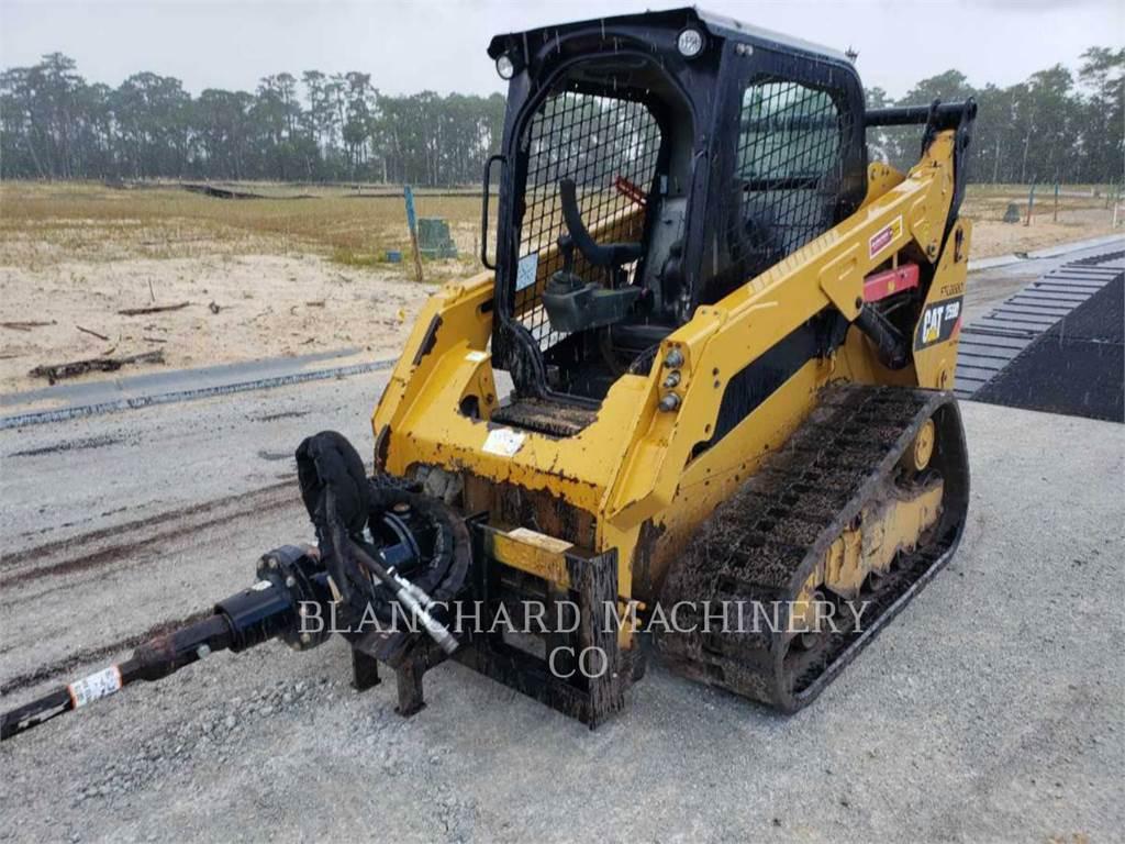 Caterpillar 259D, Petroleum Engines, Construction