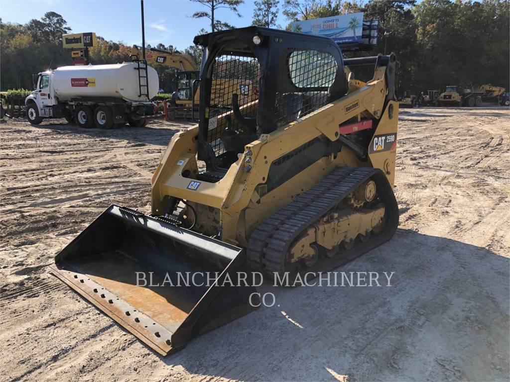 Caterpillar 259D, kettenlader, Bau-Und Bergbauausrüstung