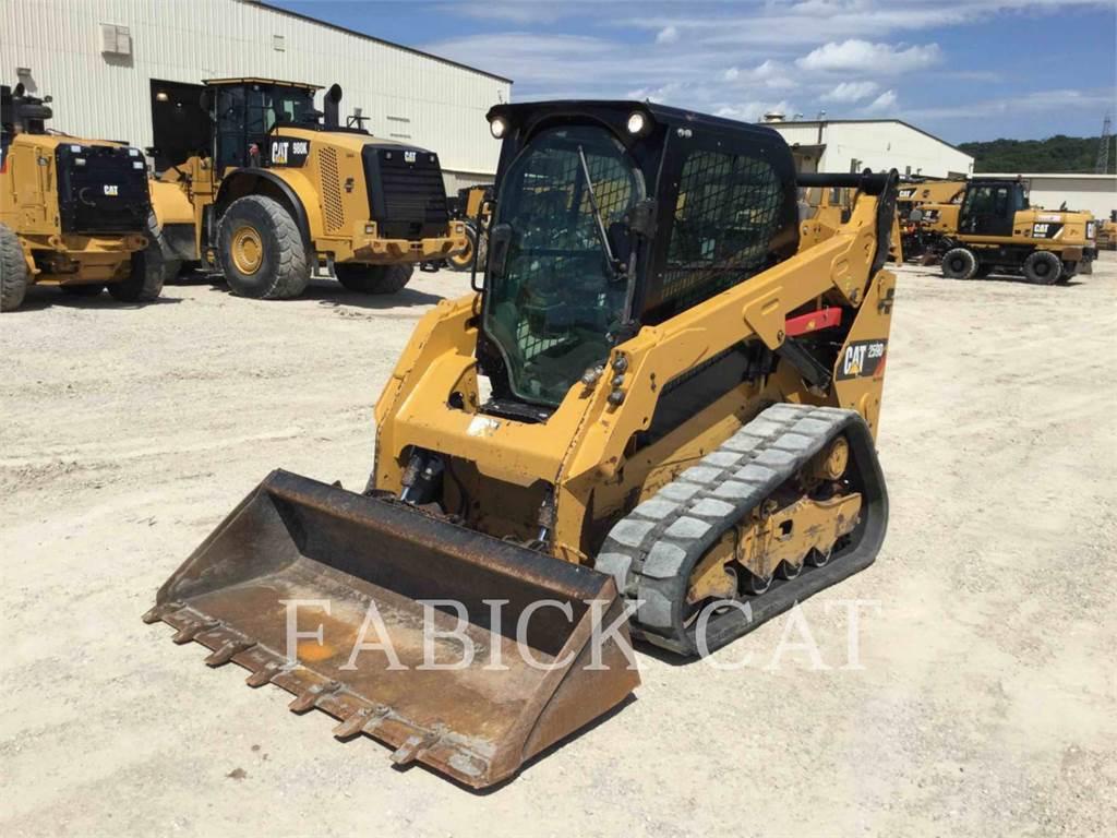 Caterpillar 259D, cargadores de cadenas, Construcción