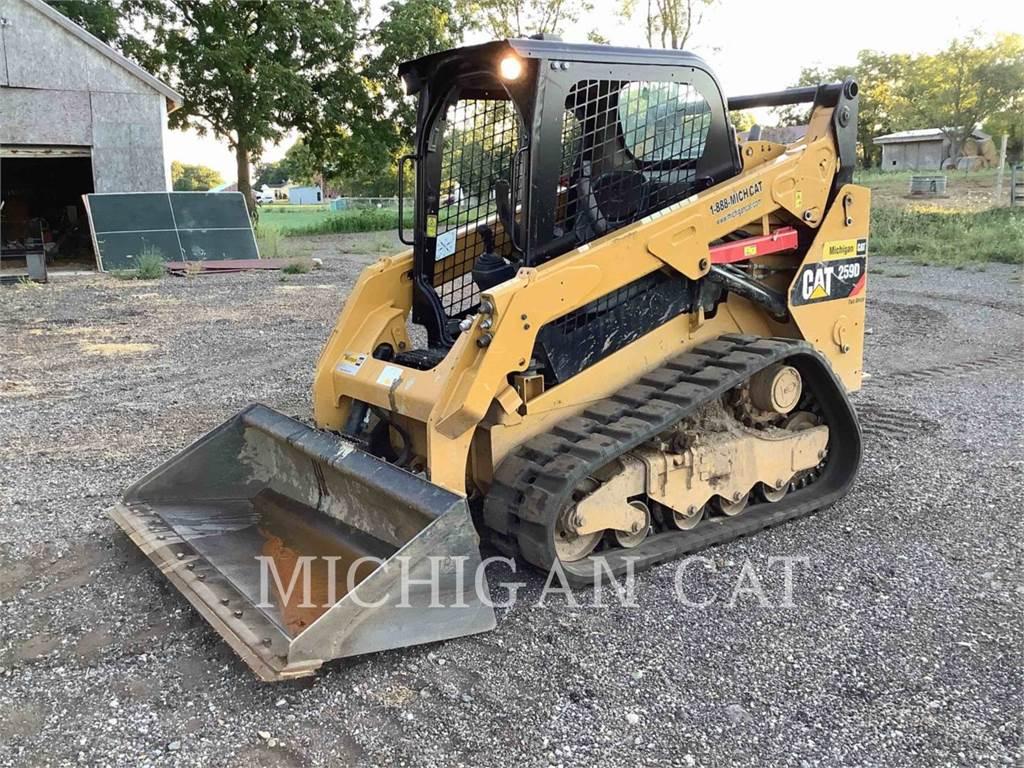 Caterpillar 259D、履带式装载机、建筑设备
