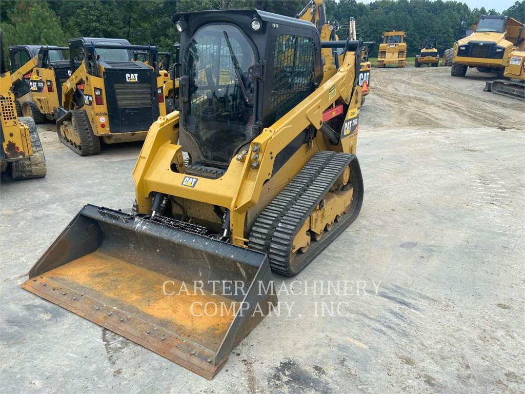 Caterpillar 259D, track loaders, Construction