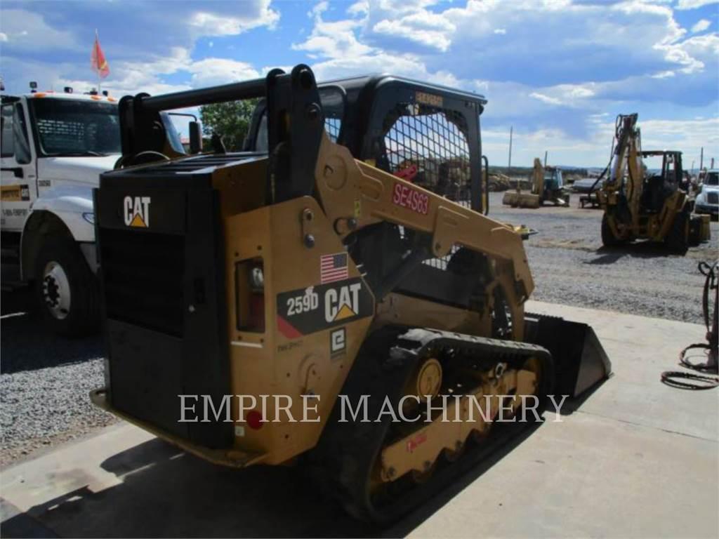 Caterpillar 259D、滑移装载机、建筑设备