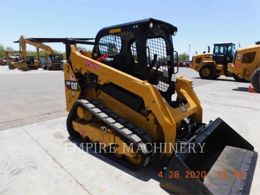 Caterpillar 259D, Mini incarcator, Constructii
