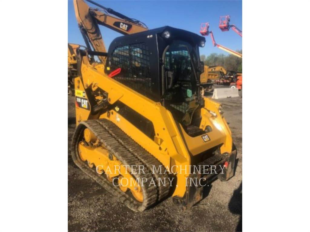 Caterpillar 259D ACBW, track loaders, Construction