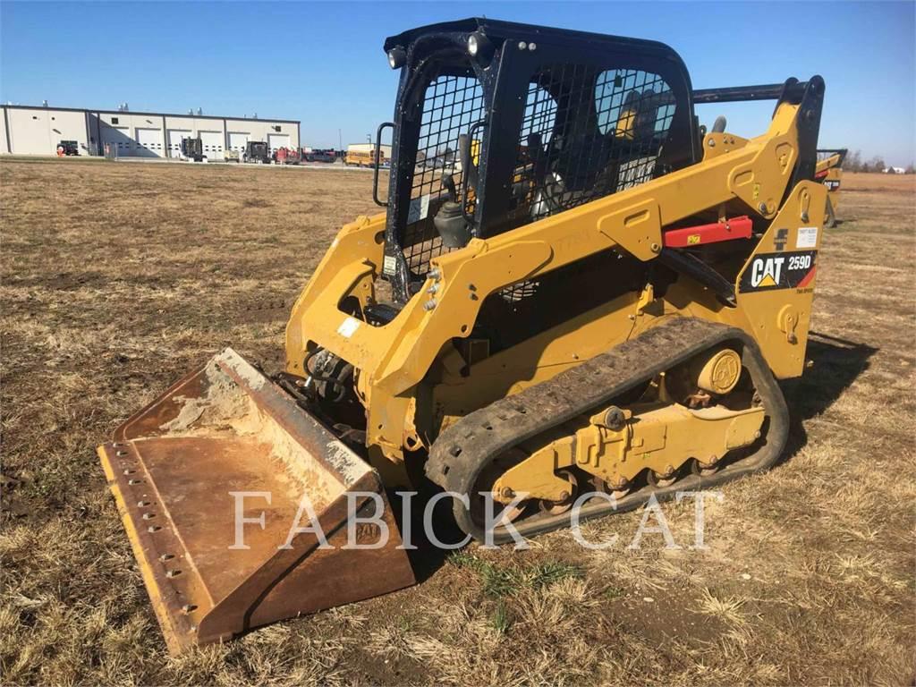 Caterpillar 259D C1H2, Kompaktlader, Bau-Und Bergbauausrüstung