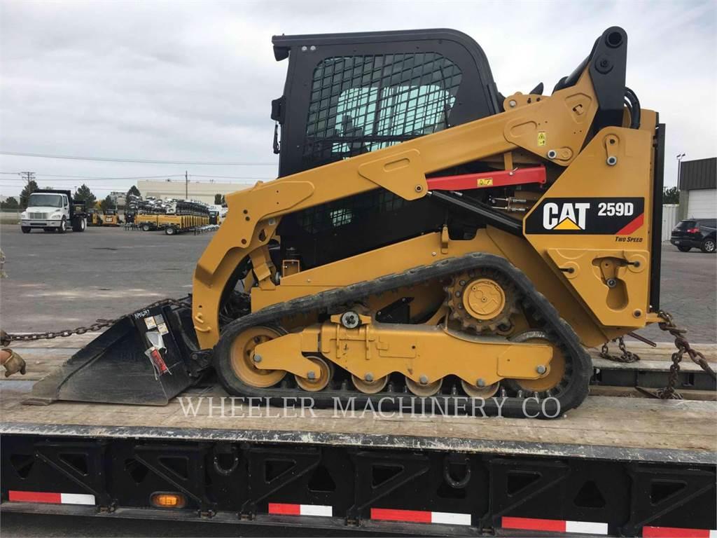 Caterpillar 259D C3-H2、スキッドステアローダー、建設