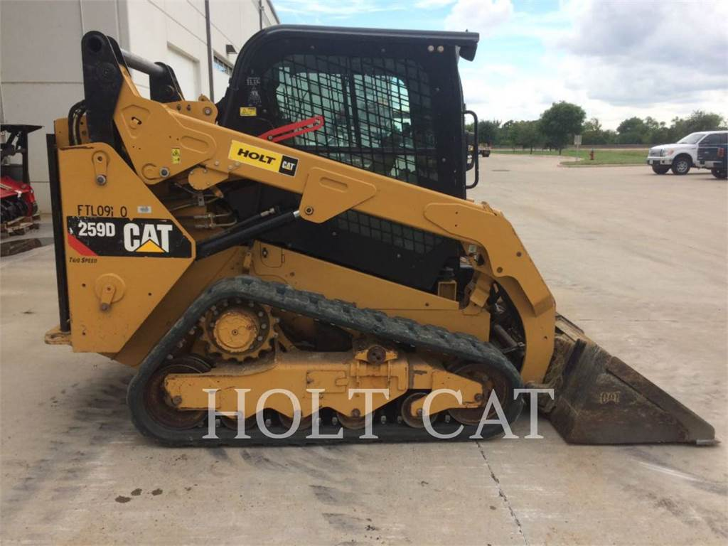 Caterpillar 259D CAB, Skid Steer Loaders, Construction