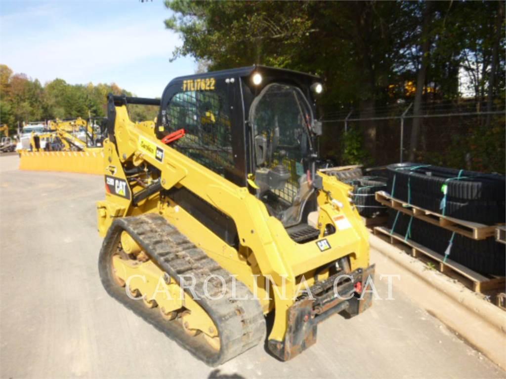 Caterpillar 259D CB, chargeurs sur chaines, Équipement De Construction