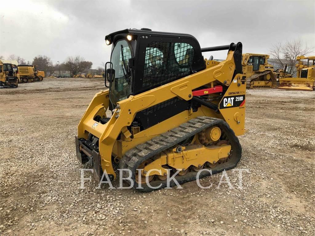 Caterpillar 259D CSP, Skid Steer Loaders, Construction