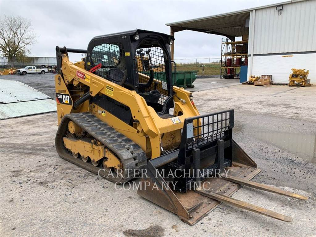 Caterpillar 259D CYW, Mini incarcator, Constructii