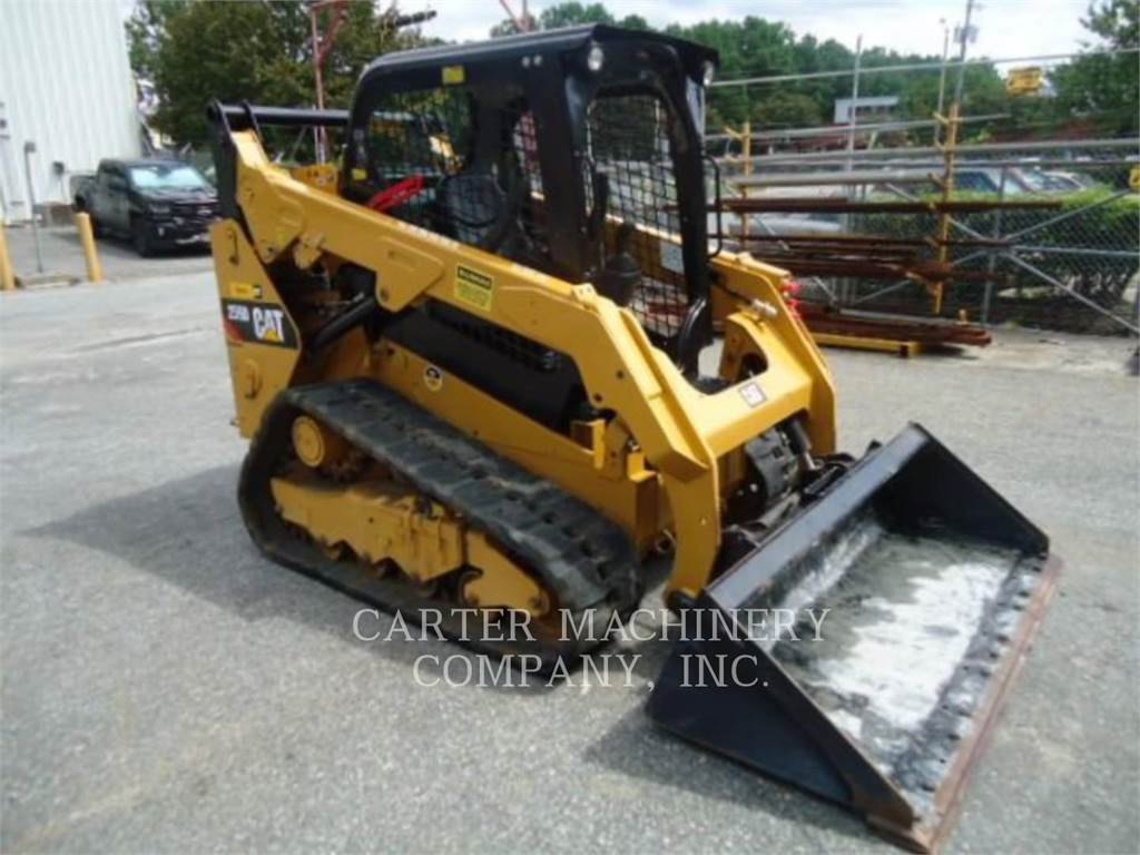 Caterpillar 259D CYW, Skid Steer Loaders, Construction
