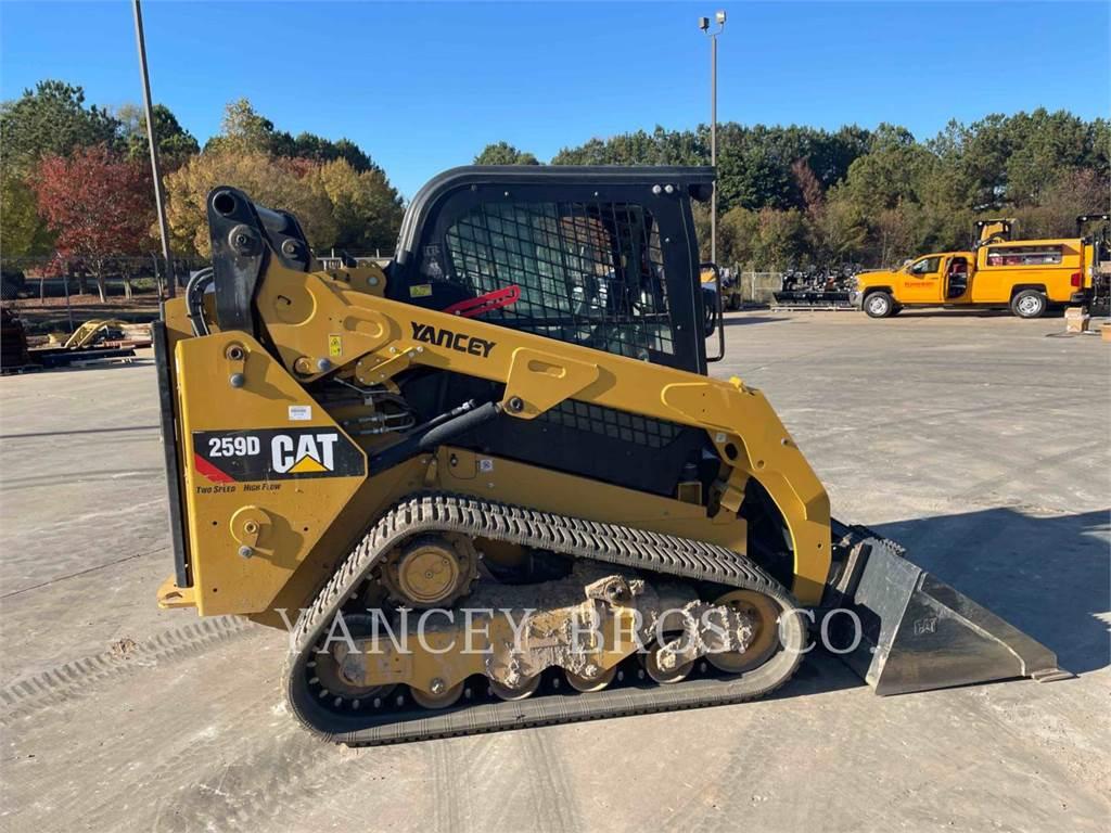 Caterpillar 259D HF, Kompaktlader, Bau-Und Bergbauausrüstung