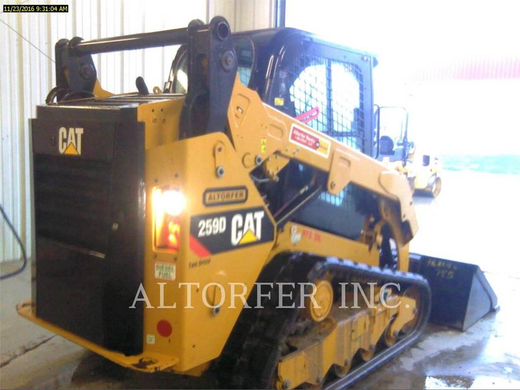 Caterpillar 259D N, Minicargadoras, Construcción
