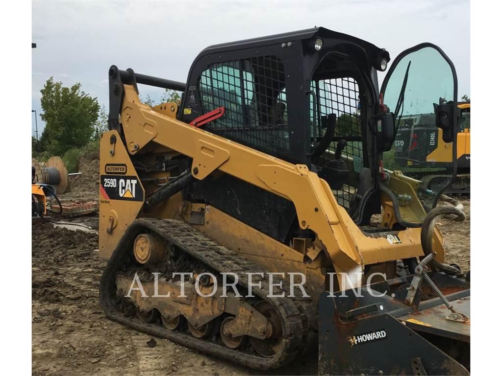Caterpillar 259D W, Skid Steer Loaders, Construction