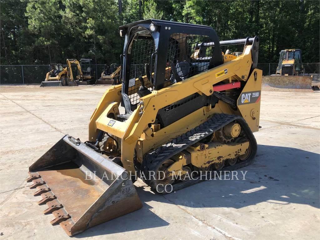 Caterpillar 259D2, chargeurs sur chaines, Équipement De Construction