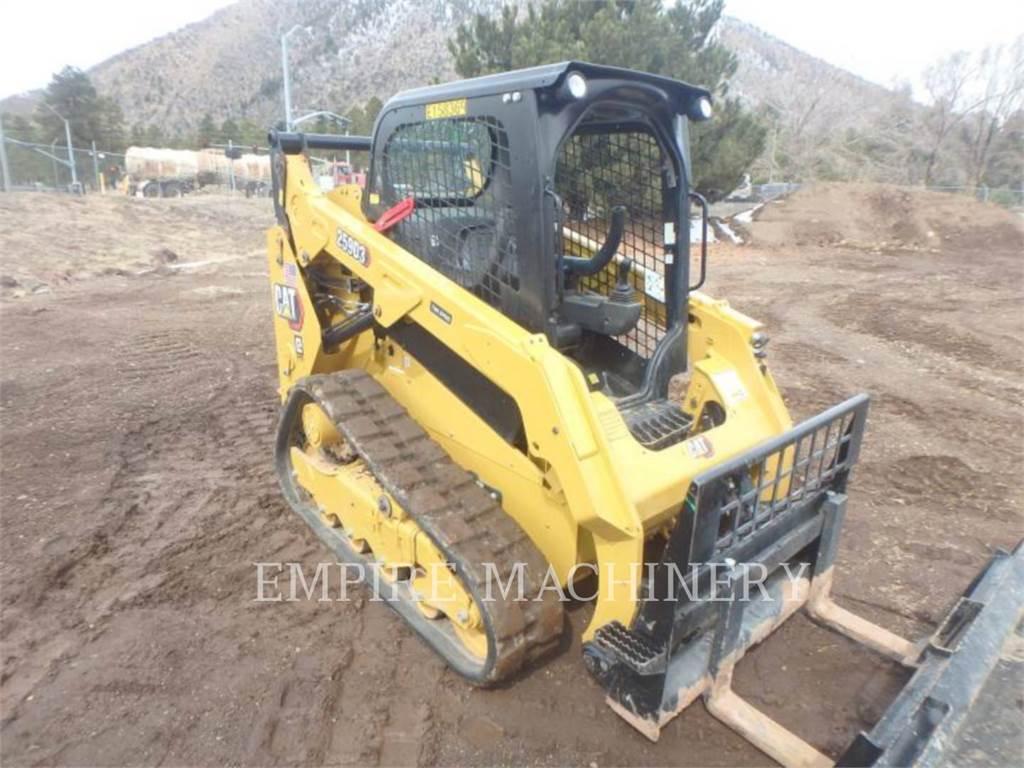 Caterpillar 259D3, Minicargadoras, Construcción