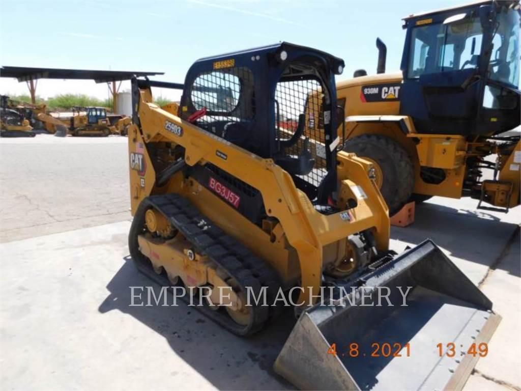 Caterpillar 259D3、滑移装载机、建筑设备