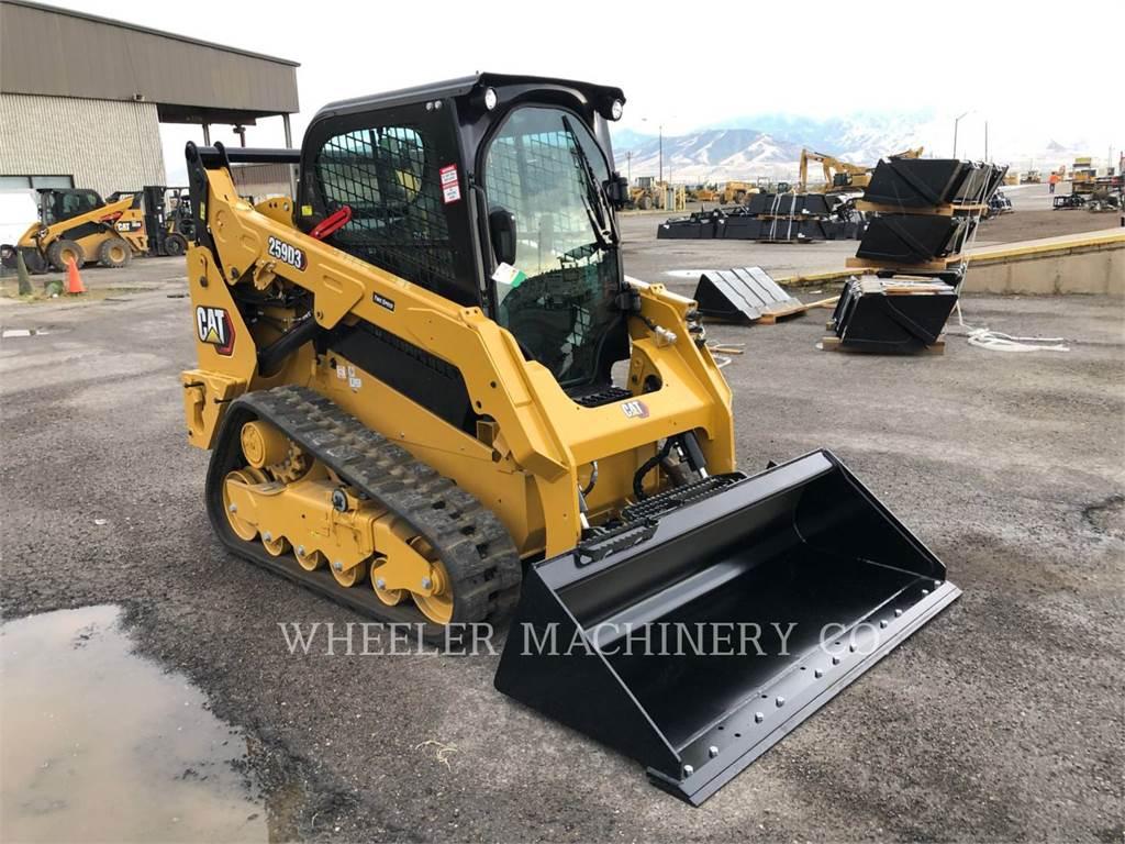 Caterpillar 259D3 C3H2, Skid Steer Loaders, Construction