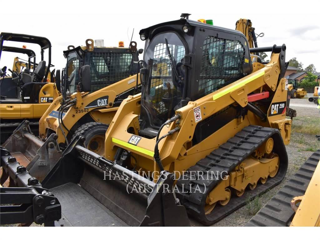 Caterpillar 259DLRC, Skid Steer Loaders, Construction