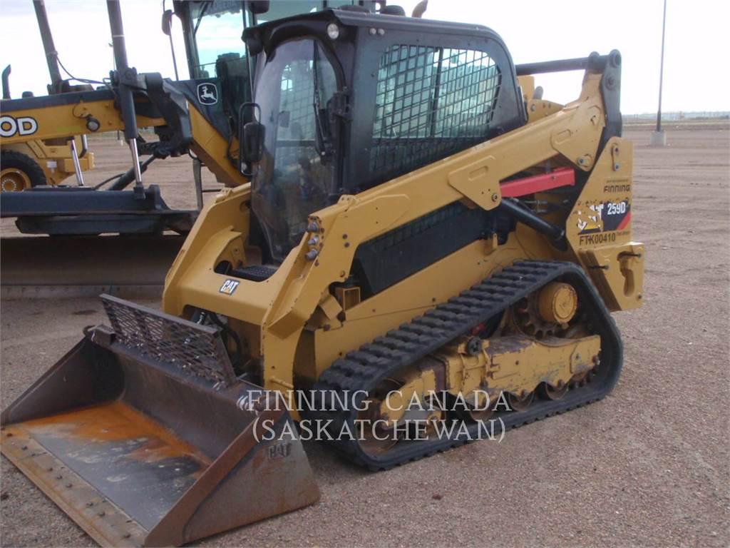 Caterpillar 259DLRC, Mini ładowarki, Sprzęt budowlany