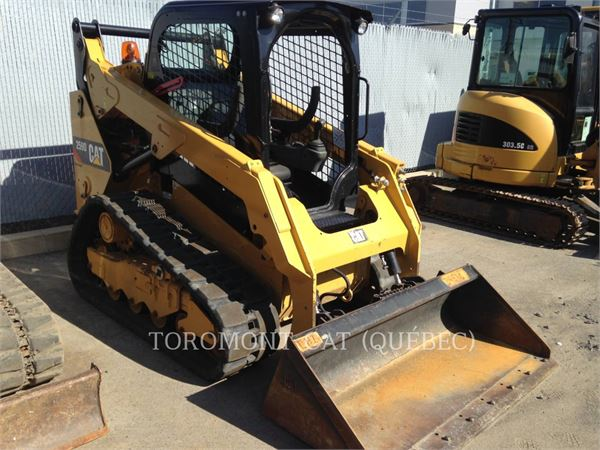 Caterpillar 259DLRC, Skid Steer Loaders, Construction