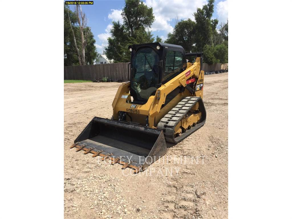 Caterpillar 259DSTD2CA, Skid Steer Loaders, Construction