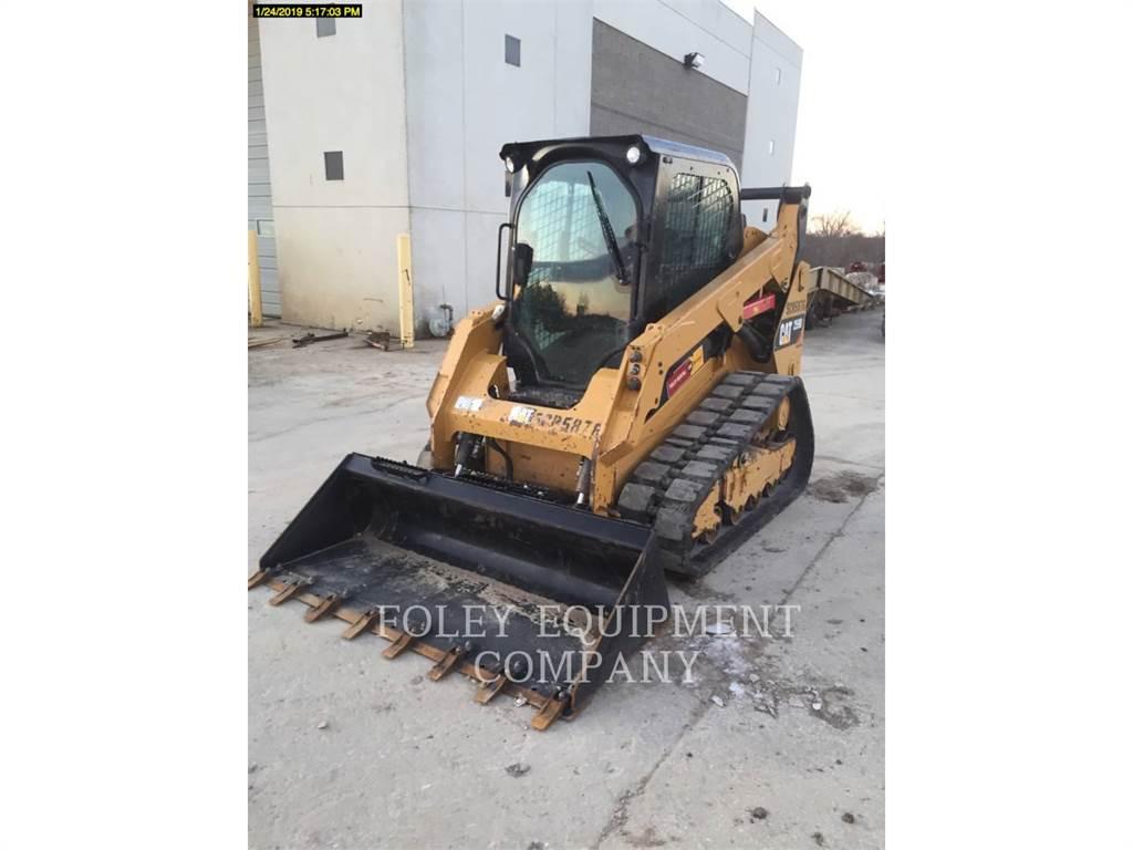 Caterpillar 259DSTD2CA、スキッドステアローダー、建設