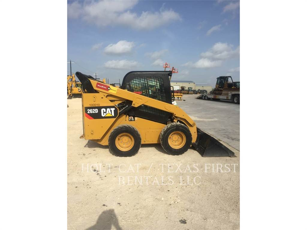 Caterpillar 262 D, Skid Steer Loaders, Construction