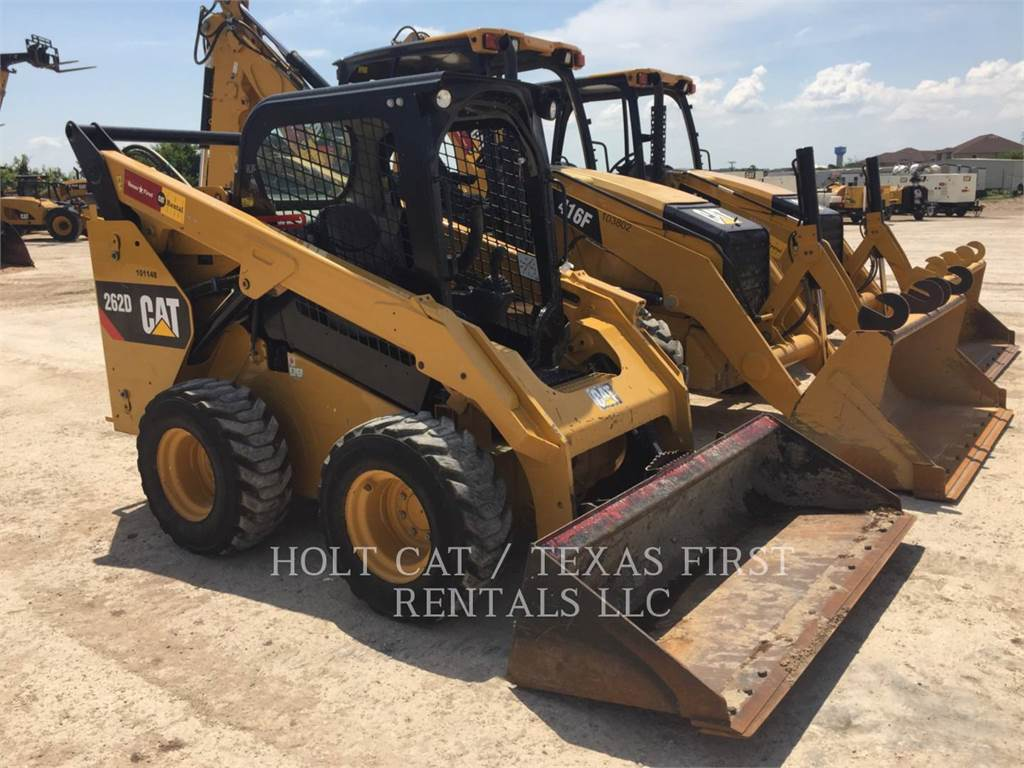 Caterpillar 262 D, Chargeuse compacte, Équipement De Construction