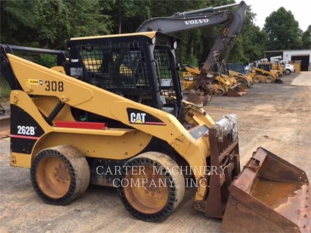 Caterpillar 262B, Mini ładowarki, Sprzęt budowlany