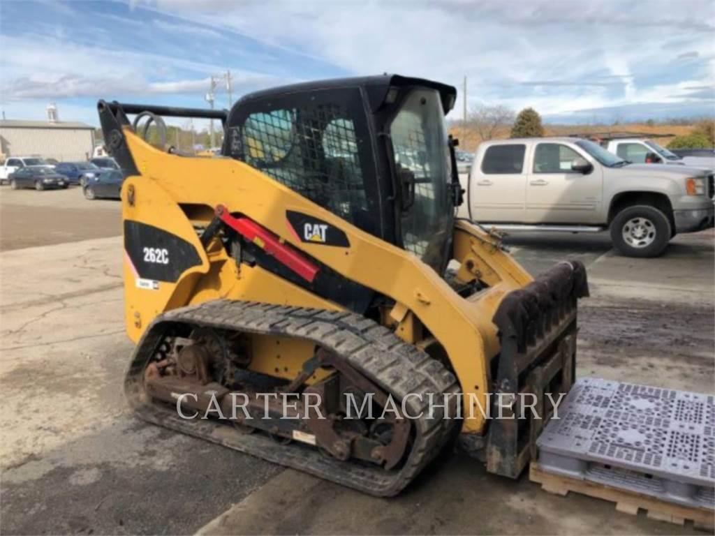 Caterpillar 262C ACV, Chargeuse compacte, Équipement De Construction