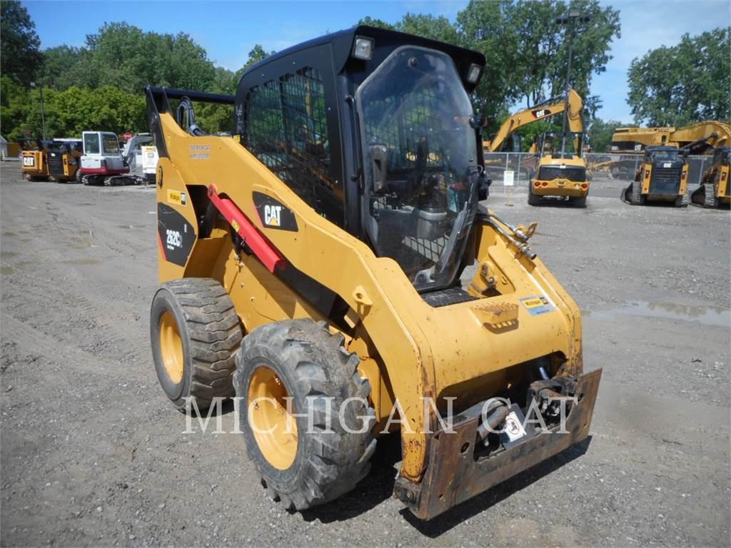 Caterpillar 262C2 A2Q, Carregadoras de direcção deslizante, Equipamentos Construção
