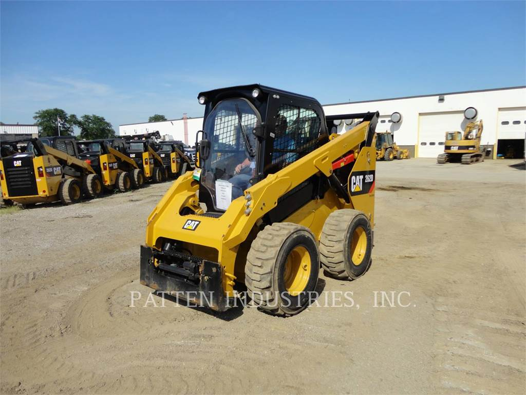 Caterpillar 262D, Skid Steer Loaders, Construction