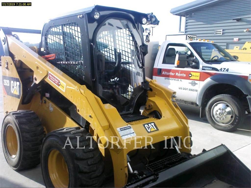 Caterpillar 262D, Minicargadoras, Construcción