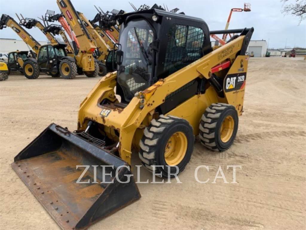 Caterpillar 262D, Skid Steer Loaders, Construction