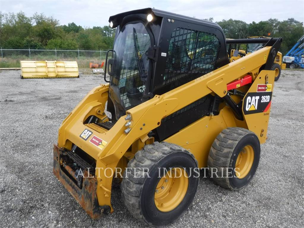 Caterpillar 262D 2AIRH, Carregadoras de direcção deslizante, Equipamentos Construção