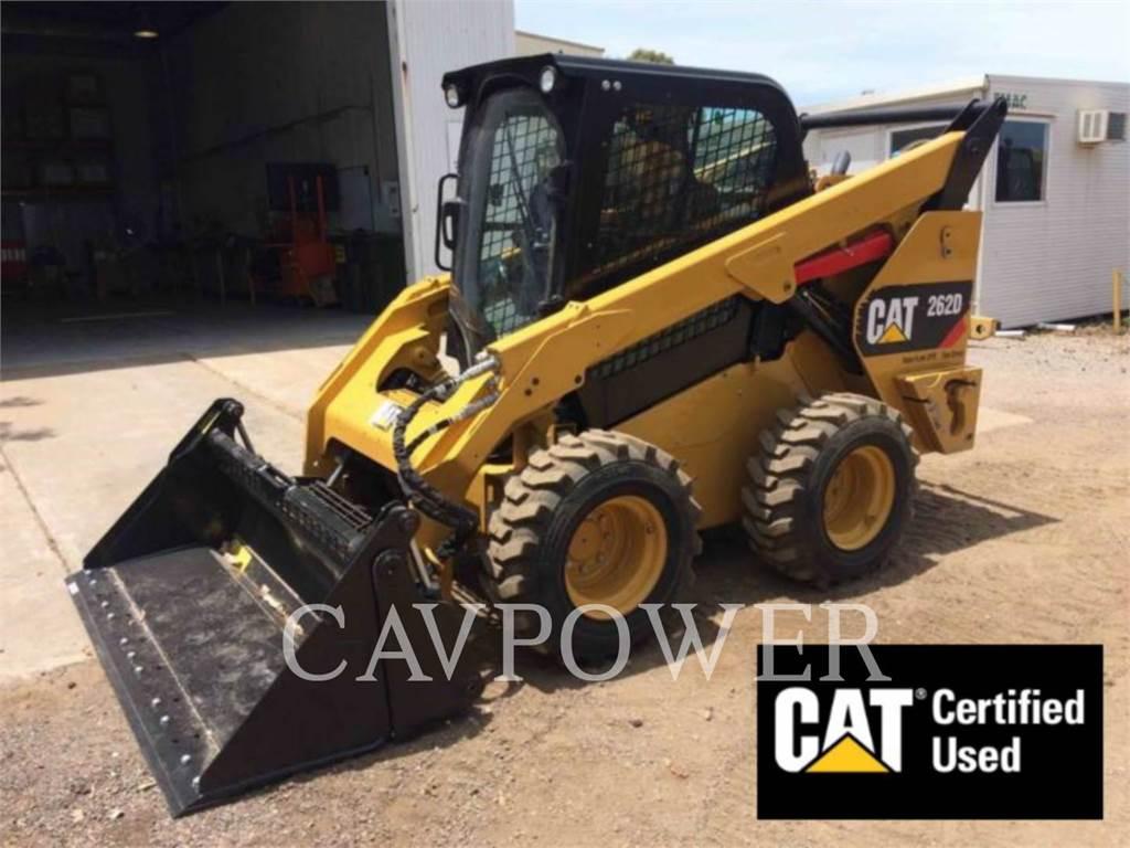 Caterpillar 262D, Mini incarcator, Constructii