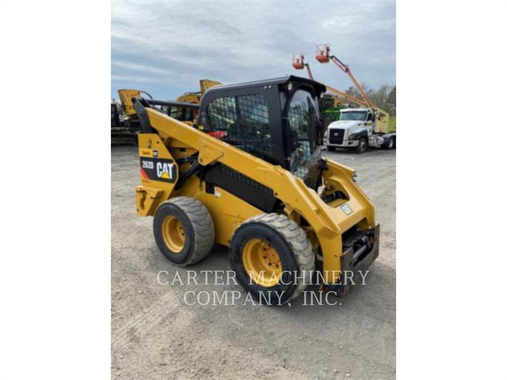 Caterpillar 262D AC, Mini incarcator, Constructii