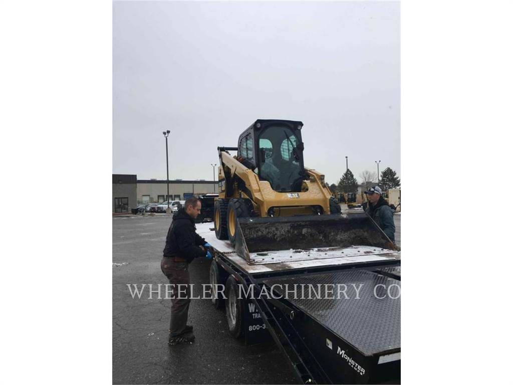 Caterpillar 262D C3-H2, Skid Steer Loaders, Construction