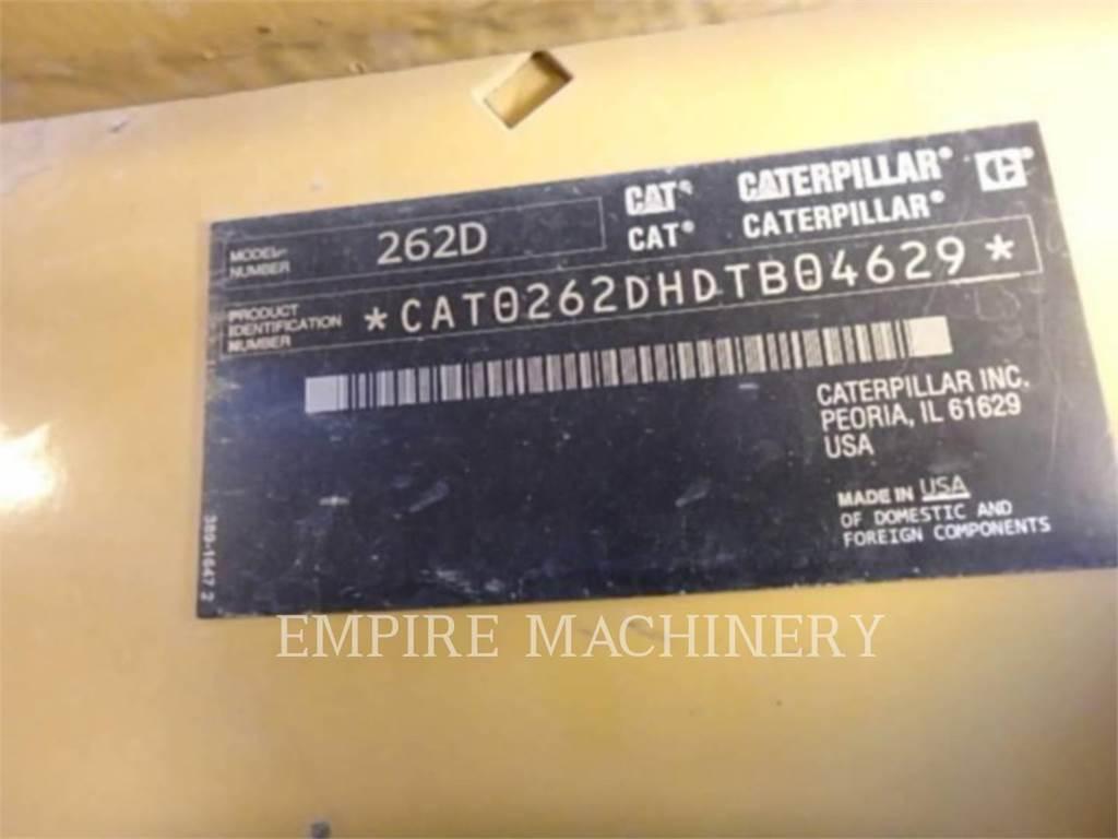 Caterpillar 262D CA、スキッドステアローダー、建設