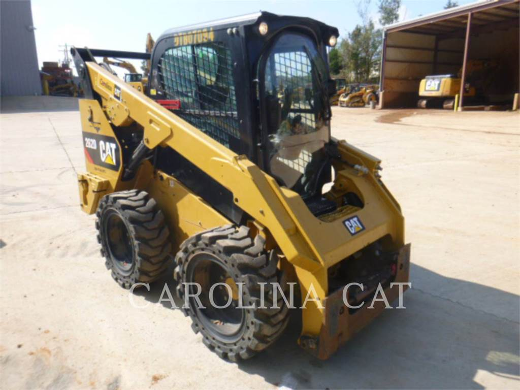 Caterpillar 262D CB HF, track loaders, Construction
