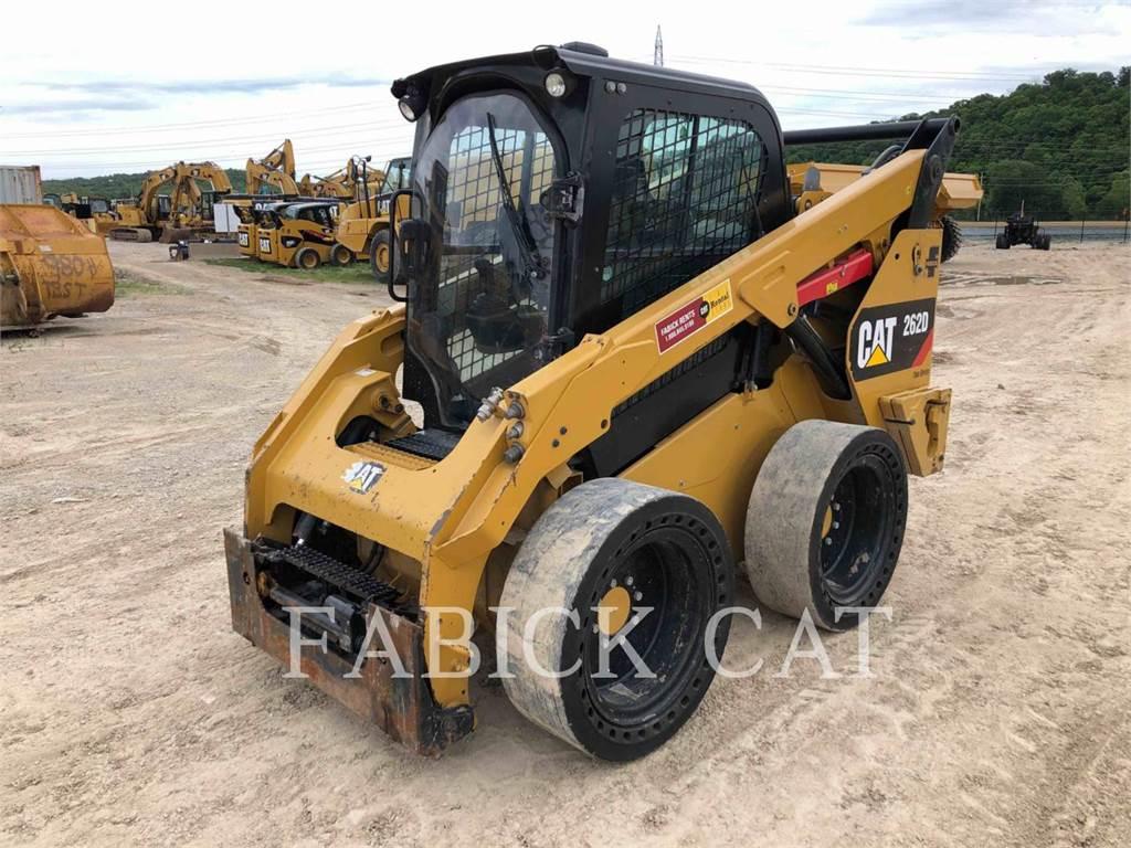 Caterpillar 262D, Carregadoras de direcção deslizante, Equipamentos Construção