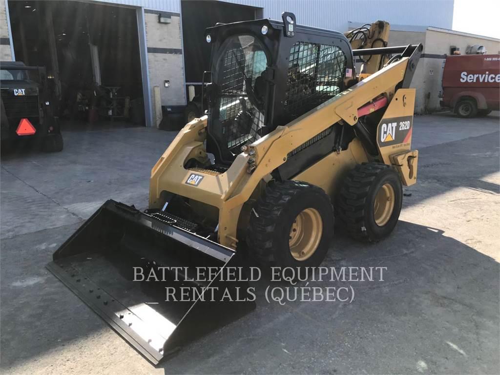 Caterpillar 262D HF XPS, Carregadoras de direcção deslizante, Equipamentos Construção
