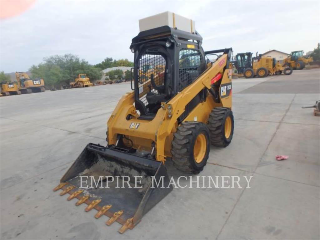 Caterpillar 262D XPS, Carregadoras de direcção deslizante, Equipamentos Construção