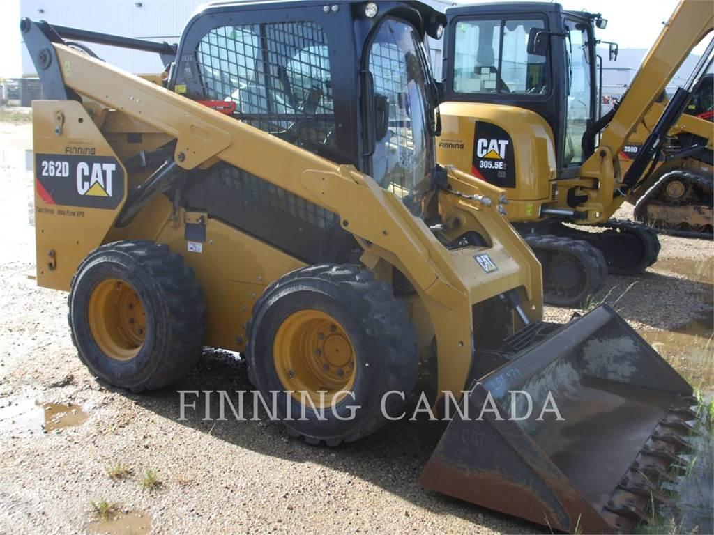 Caterpillar 262DLRC, Carregadoras de direcção deslizante, Equipamentos Construção