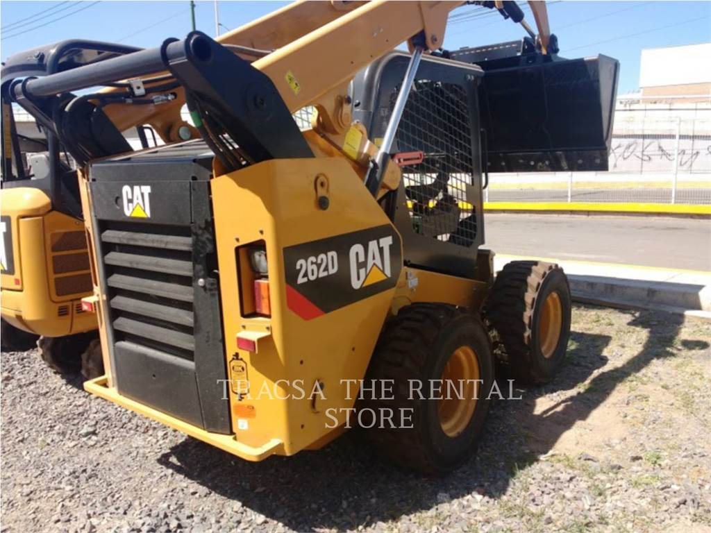 Caterpillar 262DLRC, Skid Steer Loaders, Construction