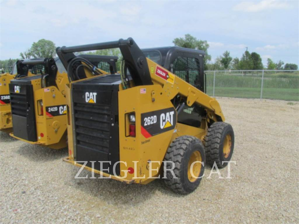 Caterpillar 262DSR, Skid Steer Loaders, Construction