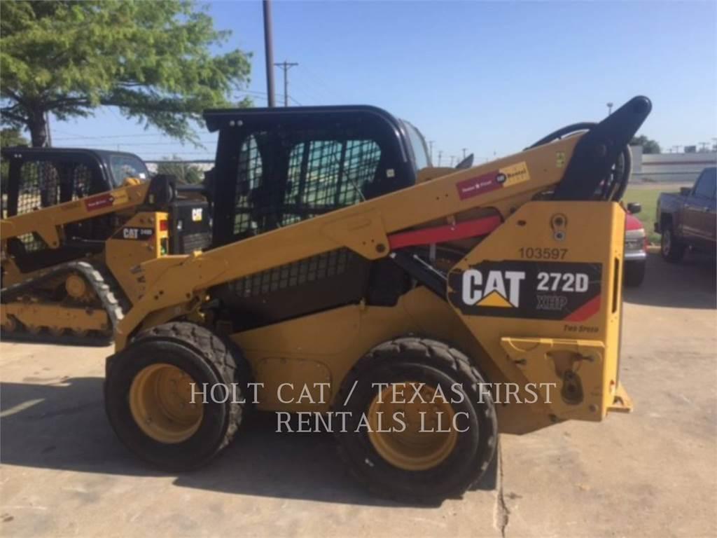 Caterpillar 272 D XHP, Minicargadoras, Construcción